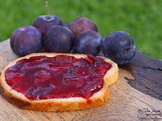 Confiture de prunes à l'amande Plum, Fruit, Food, Kitchen, Red Plum, Sliced Almonds, Vinegar, Food Porn, Recipe
