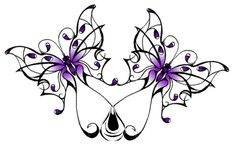 Butterfly Designs for Tattoos | Double Butterfly Tattoo by ~sweepeezee on deviantART