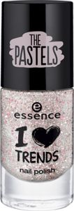 I love TRENDS nail polish the pastels 06 sparkles in a bottle - essence cosmetics
