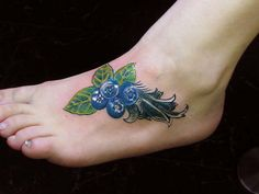 blueberry tattoo - Google Search