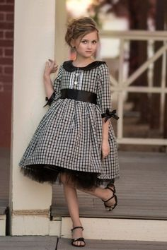 Girls Holiday Ballet Dress Very Sweet > Girl Dress > Best Buzz Little Dresses, Little Girl Dresses, Girls Dresses, Baby Dress Patterns, Everyday Dresses, Kids Outfits, Kids Fashion, Clothes, Chambray Skirt