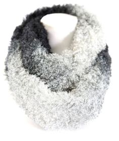 Ombre-Faux-Fur-Super-Soft-Warm-Gray-Charcoal-Black-Infinity-Scarf-Boutique