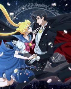 Usagi and Mamoru from Sailor Moon Crystal