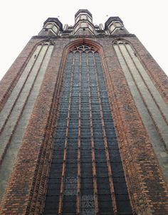 Gothic church of the Assumption in Toruń, 4th quarter of the 14th century. From 1557 to 1724 the church was a Lutheran temple. #14thcentury #artinpl #brick #medieval #gothic Lutheran, 14th Century, Temple, Medieval, Brick, Gothic, Goth, Temples, Bricks
