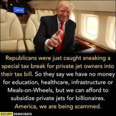 More tax breaks for the very rich! This positively sucks.