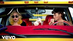 Telephone Lyrics: The fantastic and mind blowing English song lyrics that is sung by Lady Gaga and Beyoncé. This song is sung on the album. [Read More. Lady Gaga Beyonce, Lady Gaga The Fame, Music Songs, My Music, Music Videos, Beyonce Youtube, Lady Gaga Albums, Palette, Songs