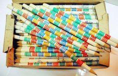 Szorzótáblás ceruza