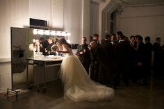 Chic modern wedding gown