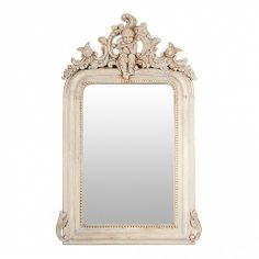 French Style carved mirror - small 100cm tall - Trade Secret