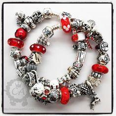 Resultado de imagem para christmas pandora bracelet