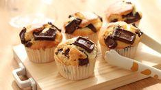 バターなしで作るチョコレートマフィンのレシピ Chocolate Muffin - YouTube Cake Videos, Food Videos, Small Cake, Chocolate Muffins, Quick Bread, Flan, Mini Cupcakes, Sweet Recipes, Bakery