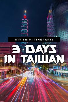 Planning a trip to Taiwan sometime soon? Here's a comprehensive DIY itinerary travel guide that covers attractions and activities in and out of Taipei! via https://iAmAileen.com/taiwan-itinerary-diy-travel-guide-3-days-taipei-day-tours/ #taipei #taiwan #t