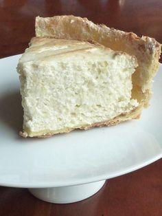 Une tarte à la rhubarbe légère, mousseuse et aérienne.