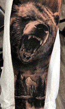 20 Pictures of Men's Leg Tattoos - Photos and Tattoos- 20 Pictures of Men's Leg . - 20 Pictures of Men's Leg Tattoos – Photos and Tattoos- 20 Pictures of Men's Leg Tattoos – P - Wolf Tattoos Men, Native Tattoos, Bull Tattoos, Viking Tattoos, Animal Tattoos, Leg Tattoos, Body Art Tattoos, Tattoos For Guys, Nature Tattoo Sleeve
