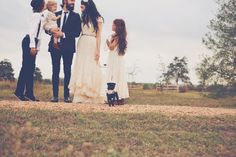 pictures of the happiest wedding i've ever seen. i absolutely adore this family from the bleubirdvintage blog