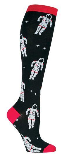 Astronaut Knee High Socks