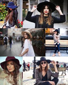 Tendência: Chapéu de inverno | Sutileza Feminina