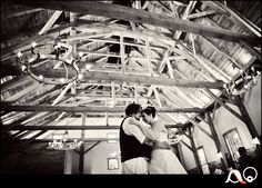 awesome photo of the Granary and this couple