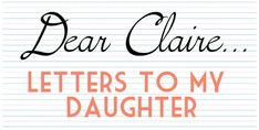 A Letter to My Daughter About the Hardships of Being a Mom - Carmen @ LifeBlessons #motherhood