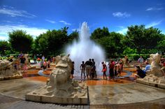 The Fountain at Coolidge Park, Chattanooga, TN