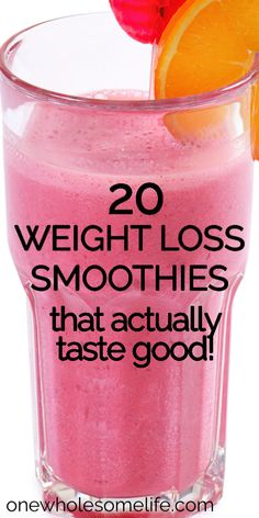 Best Healthy Smoothie Recipe, Weight Loss Smoothie Recipes, Weight Loss Drinks, Smoothie Diet, Easy Weight Loss, Healthy Weight Loss, Lose Weight, Healthy Recipes, Dinner Smoothie