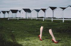 Guy Bourdin Copyright: Charles-Jourdan-Autumn-1979-Copyright-Guy-Bourdin-2014-Creative-Mapping