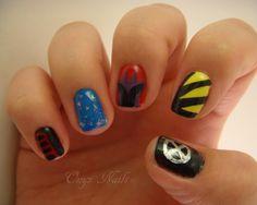 Onyx Nails: X-Men: Days Of Future Past Manicure