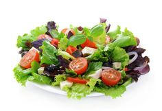 Cut about 500 calories a day when you avoid salad toppings like dried fruit, sugared or caramelized nuts, croutons and creamy dressings. Use veggies like bell peppers for crunch, peas for a bit of sweet and go easy with balsamic vinaigrette