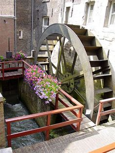 Flour mill, Bisschopsmolen, Maastricht, the Netherlands.