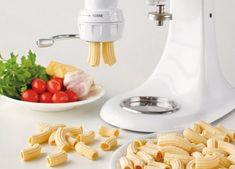 KitchenAid Stand Mixer recipe - Rigatoni with olive, caper and tomato sauce