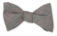 Black/Cardinal All Silk Bow Tie Hand-made in USA Click for Bow Tie Styles R. Hanauer bow ties are made to order. If you are unsure about a color or design, jus