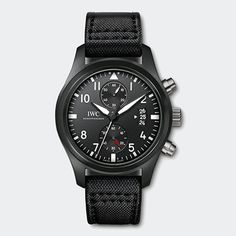 Buy AAA quality replica IWC Pilots Chronograph Top Gun watch from Our Top fake watches store. Dream Watches, Luxury Watches, Cool Watches, Watches For Men, Stylish Watches, Top Gun, Iwc Watches, Sport Watches, Army Watches