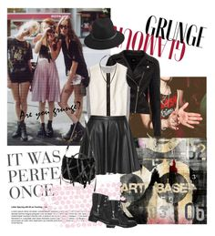 Grunge by pictures-mary on Polyvore featuring polyvore fashion style Reed Krakoff Alice + Olivia Sergio Rossi rag & bone Topman The Artwork Factory Alexander Wang
