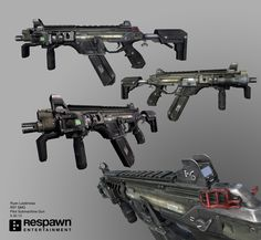 The (Special Operations Assault Rifle) is an upgraded version of the from Titanfall This rifle is the workhorse for both the IMC and the Colonial Militia. As a weapons platform, it is highly customizable with countless accessories and Sci Fi Weapons, Fantasy Weapons, Armor Concept, Weapon Concept Art, Titanfall Cosplay, Arsenal, Tactical Pistol, Types Of Swords, Battle Rifle