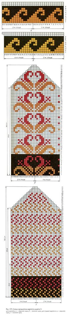 Knitting Patterns Mittens Schemes of mittens: 13 thousand images found in Yandex. Knitting Charts, Knitting Stitches, Knitting Patterns, Mittens Pattern, Knitting Socks, Knitting Projects, Sewing Projects, Mosaics, Hardanger