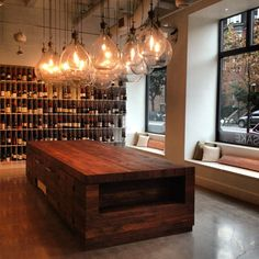 Urban Grape // New wine store just opened near the office. // South End