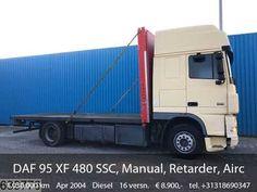 DAF 95 XF 480 SSC, Manual, Retarder, Airco, Analoge tachograaf Mobile Marketing, Semi Trucks, Diesel, Social Networks, Social Media, Sale Promotion, Summer Days, Transportation, Manual