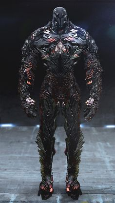 Futuristic Sentinel Concept Art for X-Men: Days of Future Past.