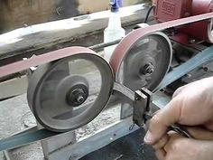 Knife Grinding Jig, Knife Grinder, Knife Sharpening, Metal Projects, Welding Projects, Belt Grinder Plans, Copper Wire Art, Blacksmithing Knives, Knife Making Tools