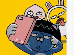 KAKAO FRIENDS Funny Illustration, Character Illustration, Cartoon Pics, Cute Cartoon, Funny Character, Character Design, Apeach Kakao, Kakao Friends, Human Drawing