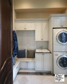 Dream Mud Room traditional laundry room