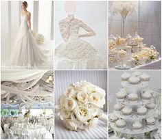 My inspiration for the latest Wedding Details post on Alice in WonderNails blog: Pure White
