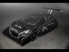 Peugeot 208 T16 Pikes Peak, aka the monster Loeb will win Pikes Peak in.