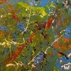 """Acrylic on Canvas 24"""" x 24"""" x 1½"""""""