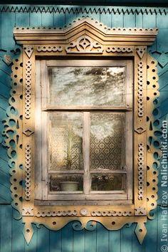 Russian windows platband