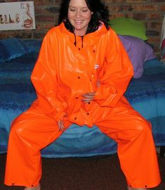 Other Clothing, Shoes & Accessories - Orange Ocean Rain Overall   Imported from Norway   Really Comfortable (raincoat, rainwear, raingear) was listed for R1,750.00 on 19 Jan at 07:32 by Rouxenator in Cape Town (ID:126854863)
