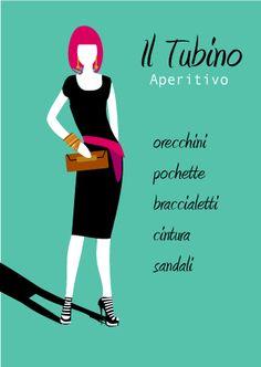 Il tubino nero, come indossarlo durante un aperitivo! #consulenza #immagine #modena