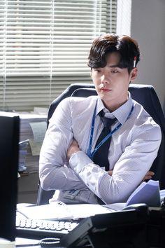 Lee jong suk ❤❤ while you were sleeping drama ^^ Lee Jong Suk Cute, Lee Jung Suk, Lee Hyun Woo, Lee Sung, Asian Actors, Korean Actors, Korean Dramas, Korean Men, Lee Jong Suk Wallpaper