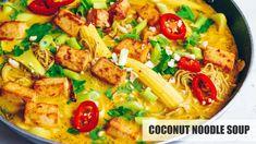 Coconut Edamame Noodle Soup (Vegan & Gluten-free) - YouTube