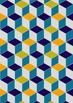 Cube Geometric III by AJJ ▲ Angela Jane Johnston